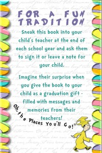 """Smarty Tip: """"Oh the Places You'll Go!"""" Book - Charlotte ..."""