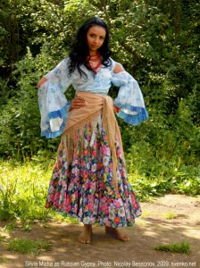 Gypsy Pair a colorful long skirt and loose-fitting white blouse with a shawl or scarf and loads of jangly jewelry (large hoop earrings bangles and beads ...  sc 1 st  Charlotte Smarty Pants & Low-cost Last-minute Halloween Costume Ideas - Charlotte Smarty Pants