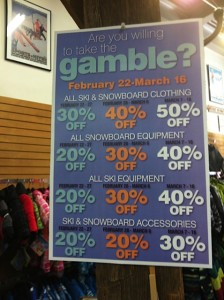 Ski Country Sports Gamble Sale