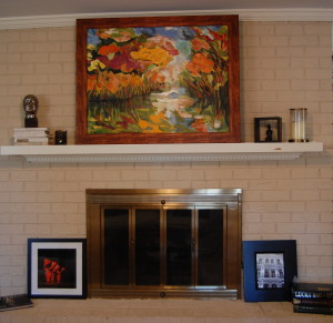 Art over Mantle