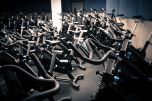 Flywheel cycle studio