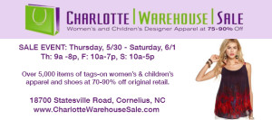 CharlotteWarehouseSale