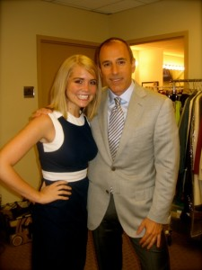 Karly Barker Matt Lauer