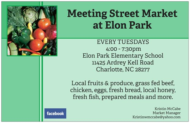 Meeting Street Market Flyer