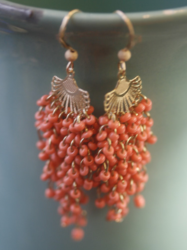 Erin McDermott Coral Sea Fan Earrings