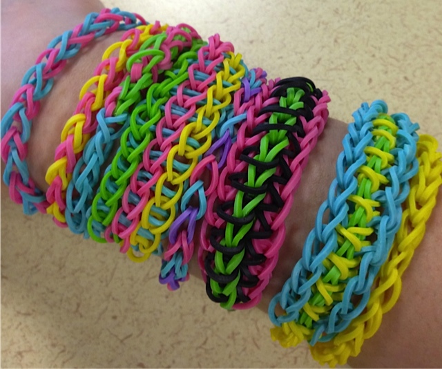 Rainbow Loom VarietyEasy Rainbow Loom Designs