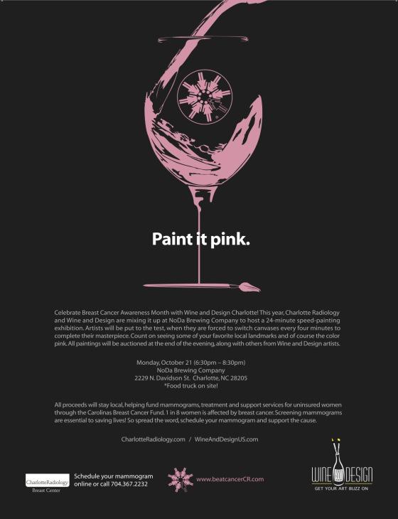 Charlotte Radiology Wine & Design Night