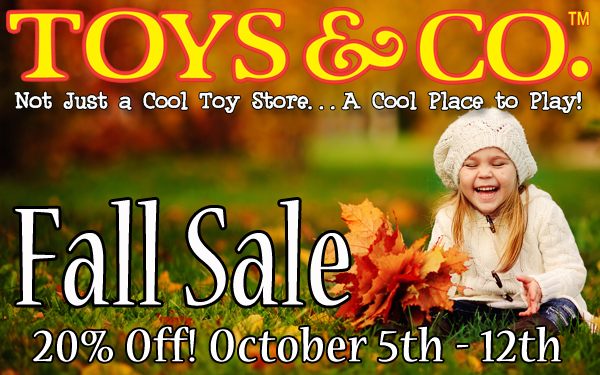 Toys Co Fall Sale