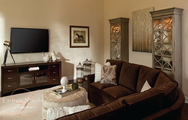 Lauren Nicole Designs Family Room