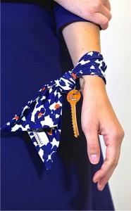 Jude Connally FREE scarf keychain