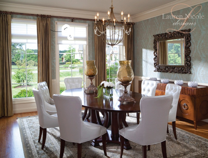 Lauren Nicole Designs Dining Room