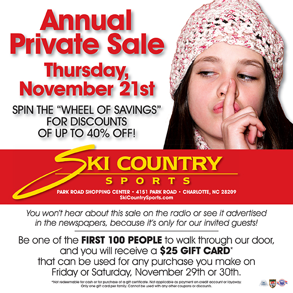 Ski Country Sale