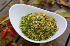 Brussel Sprouts Slaw