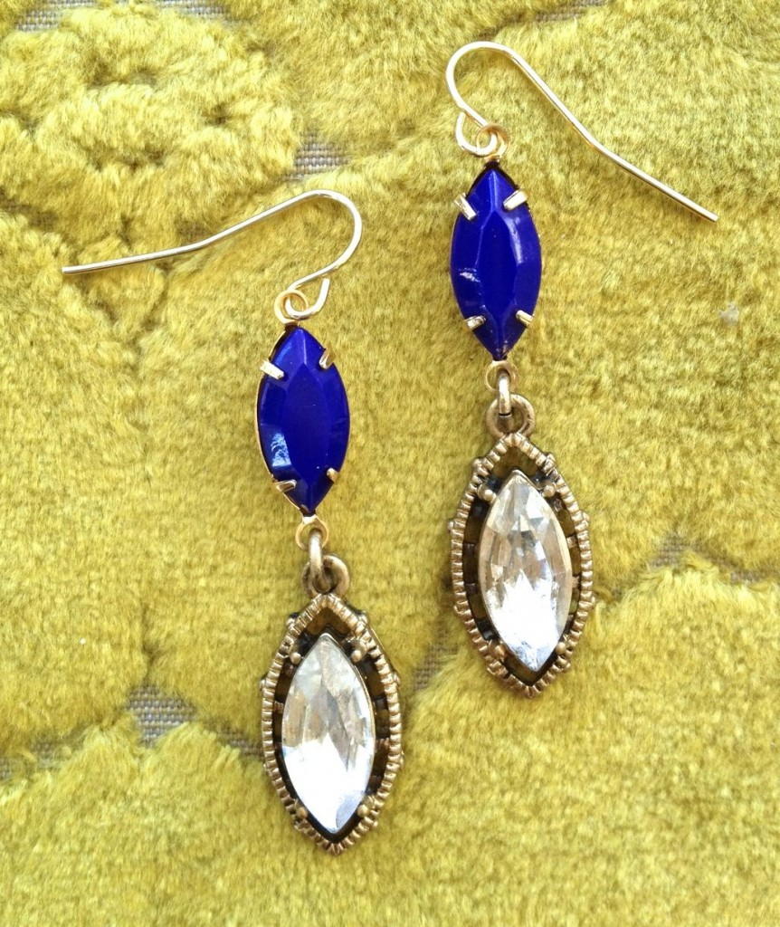 Vintage Marquis Blue Lapis