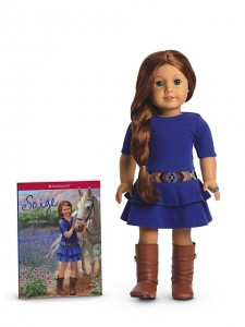 American Girl Saige Doll & Book