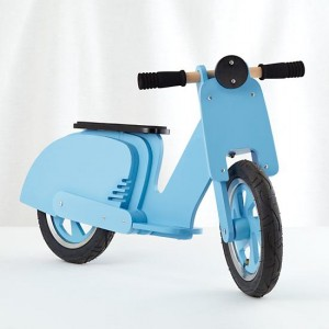 Land of Nod Blue Scooter