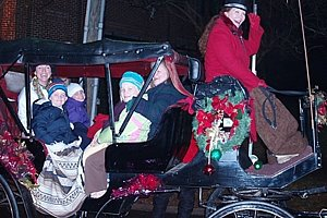Christmas in Davidson Carriage