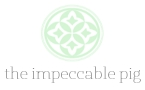The Impeccable Pig logo