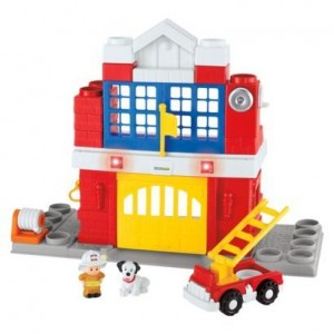 Fisher Pirce Little People Stackers Fire Station