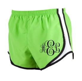 Sercie Monogrammed Shorts