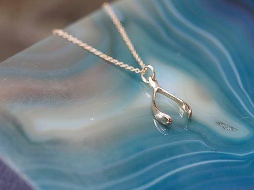 Erin McDermott Wishbone Necklace