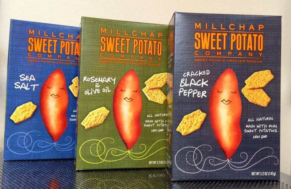 Millchap Sweet Potato Crackers