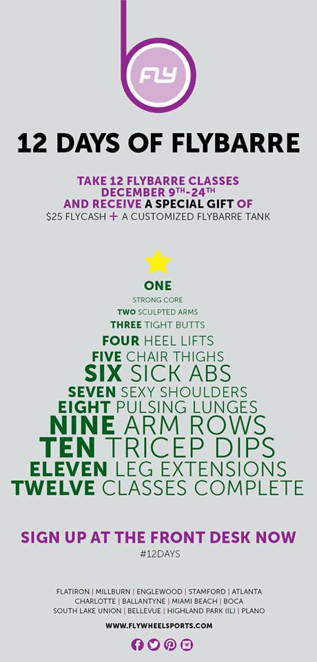12 Days of FlyBarre