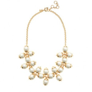 JCrew Floating Pearl Necklace