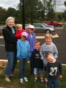 Mimi and kids