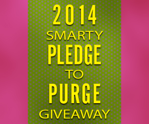 Smarty Pledge to Purge Giveaway