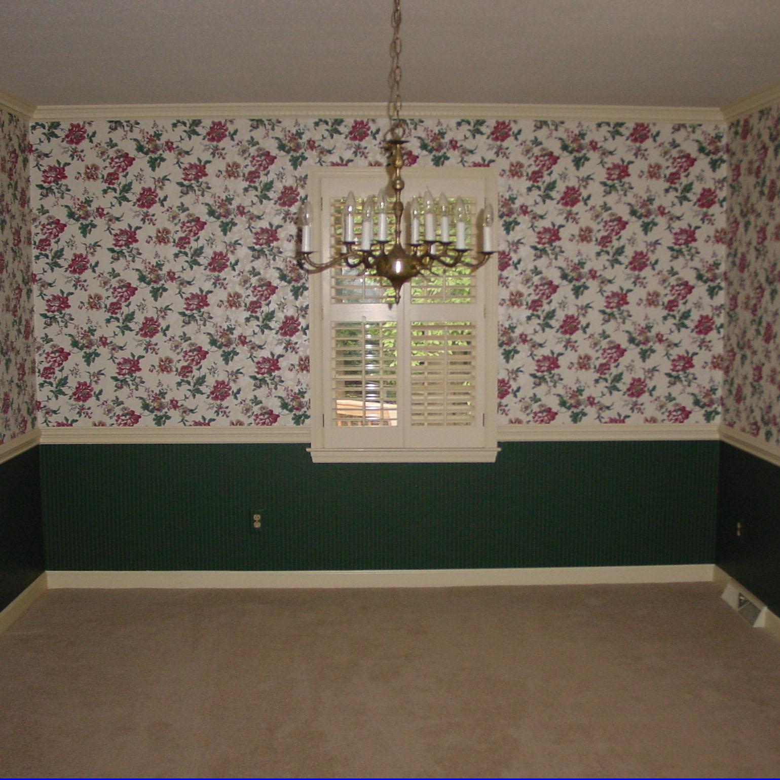 Original Dining Room Wallpaper