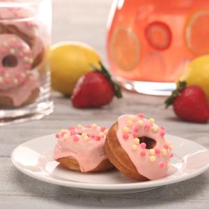 Bumbalooza Pink Lemonade Donuts