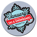 January Ski & Snowboard Month