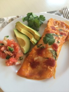 Final Shrimp Enchiladas