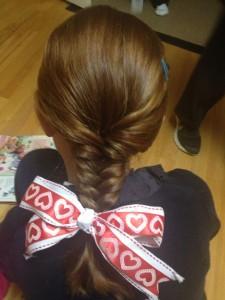 Fish Tail Hair