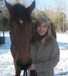 Dr. Alexis Sage and Horse