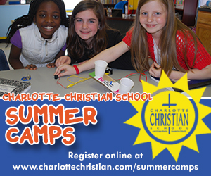 Charlotte Christian School Ad jan 2014 summer camp