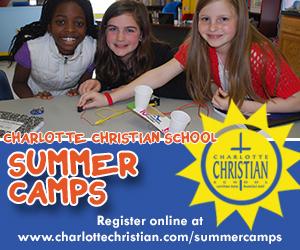 Charlotte Christian School Ad jan 2014 summer camp