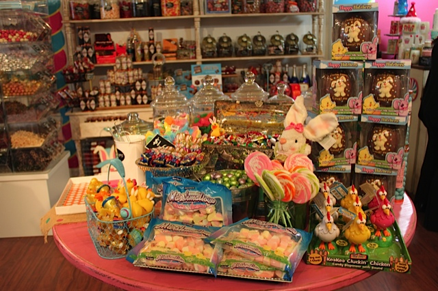 Easter candy stash at Candy Girl