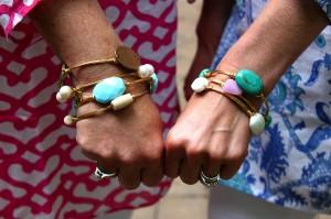Jen & Cheryl Bourbon & Boweties Bracelets