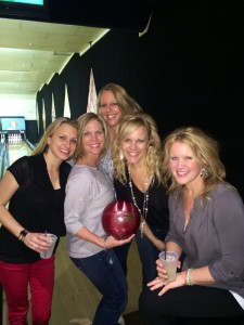 bowling group shot