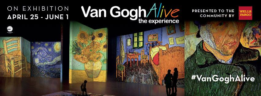 Discovery Place  van gogh alive