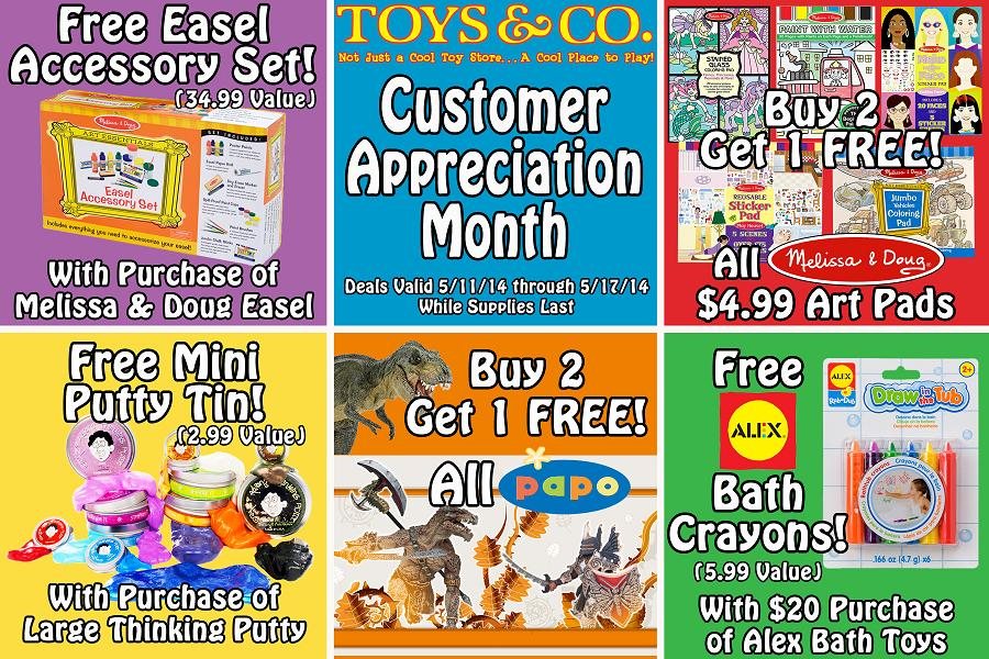 Toys & Co Customer Appreciation Month