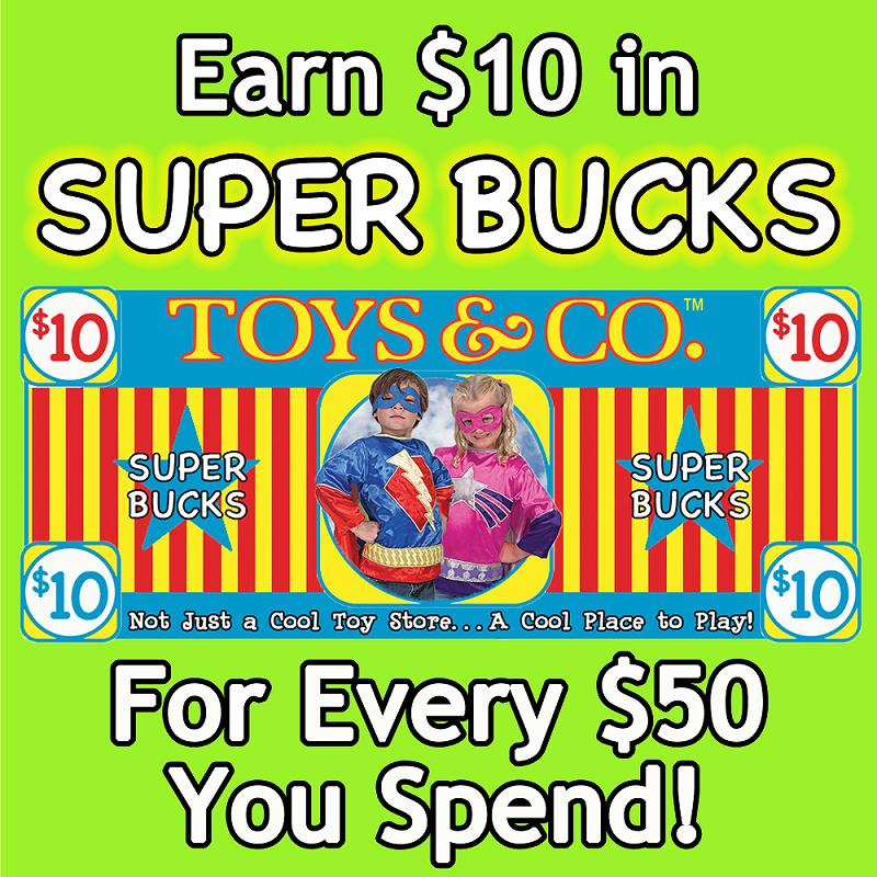 Toys & Co Big Bucks Customer Appreication