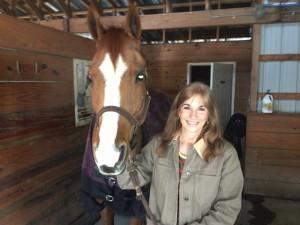 Alexis Sage horse
