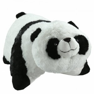 Panda Pee wee pillow pet