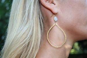 CP MJ earrings