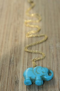 EM Lucky Elephant Necklace