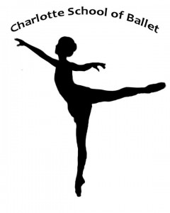 Charlotte School of Ballet logo