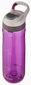 Contigo AUTOSEAL Cortland Water Bottle - Radiant Orchid - shut lid top